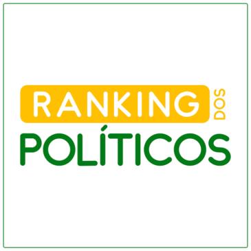 Deputado Federal Felício Laterça em  1º lugar no Ranking dos Políticos