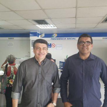 Deputado Federal Felício Laterça visita agência da Previdência Social de Macaé e cobra melhoria no atendimento à população