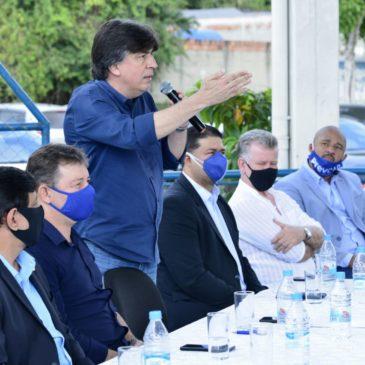 Deputado Felício Laterça participa do lançamento do Programa Idade Ativa, em Itaboraí