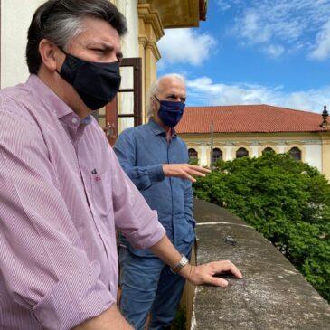 Felício Laterça visita a Universidade Federal Rural Fluminense